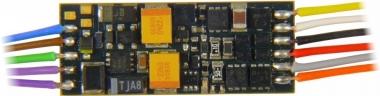 Zimo MX649 Miniatur-Sounddecoder mit Kabel, 0,7 A, DCC/MM wie MX646