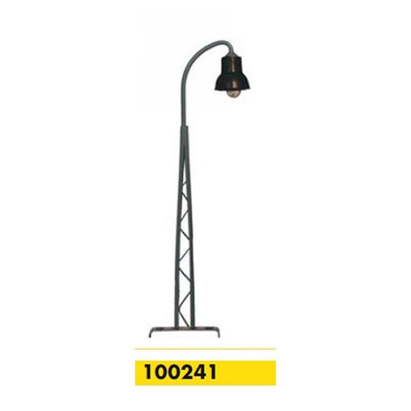 Beli-Beco 100241 Gittermastlampe 1-fach H0 Höhe 100 mm Fabrikneu