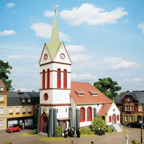 Auhagen 11370 Stadtkirche in H0 Bausatz