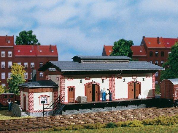Auhagen 11399 Güterschuppen in H0 Bausatz Fabrikneu
