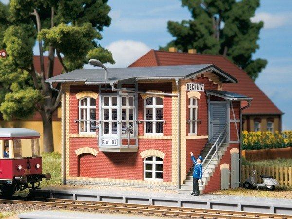 Auhagen 11411 Stellwerk Oschatz in H0 Bausatz