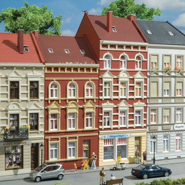 Auhagen 11417 Schmidtstraße Nr. 27/29 in H0 Bausatz