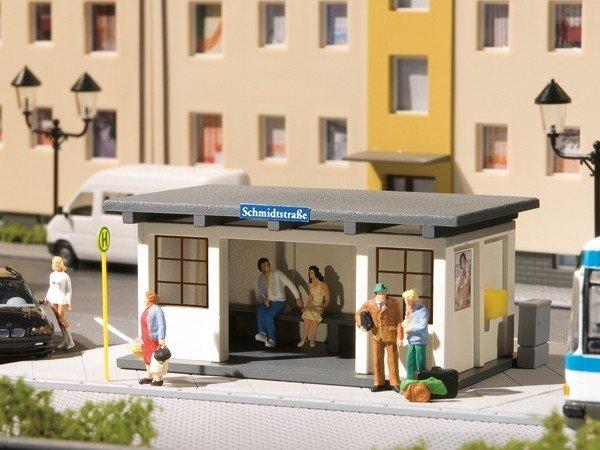 Auhagen 11419 2 Buswartehäuschen in H0 Neuware