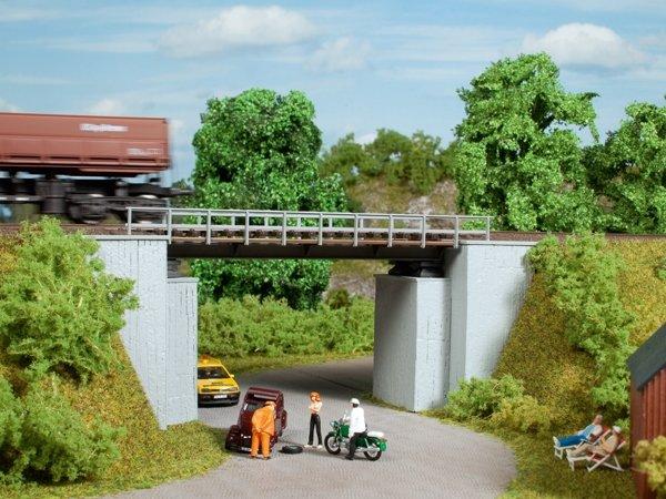 Auhagen 11428 Kleine Brücke in H0 Bausatz Fabrikneu