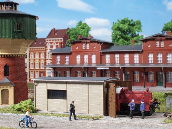 Auhagen 11429 Kö Schuppen in H0 Bausatz Fabrikneu
