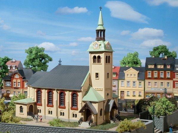 Auhagen 12229 Kirche Börnichen in H0/TT Bausatz