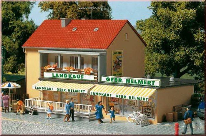 Auhagen 12238 Landwarenhaus in H0/TT Bausatz Fabrikneu