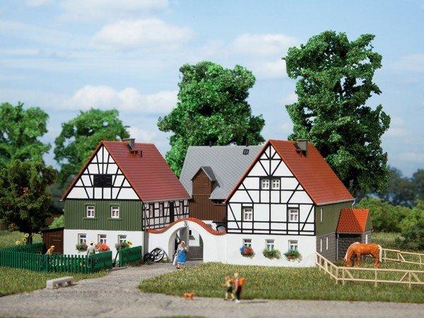 Auhagen 12257 Bauernhof in H0/TT Bausatz