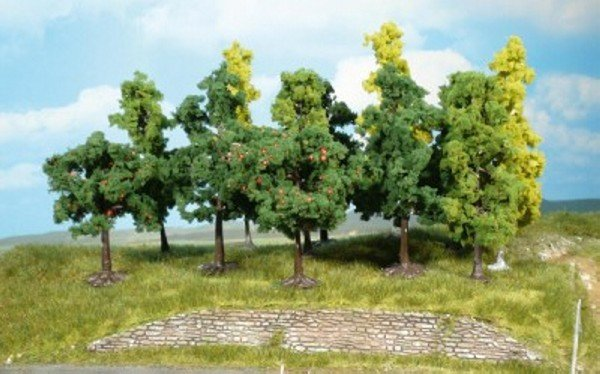 Heki 1360 Bäume 50 Stück 8 - 13 cm Fabrikneu