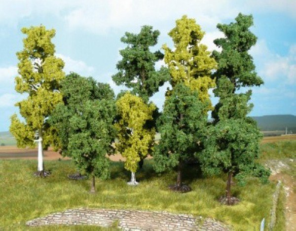Heki 1380 Super artline Bäume 40 Stück 10 - 18 cm Neuware