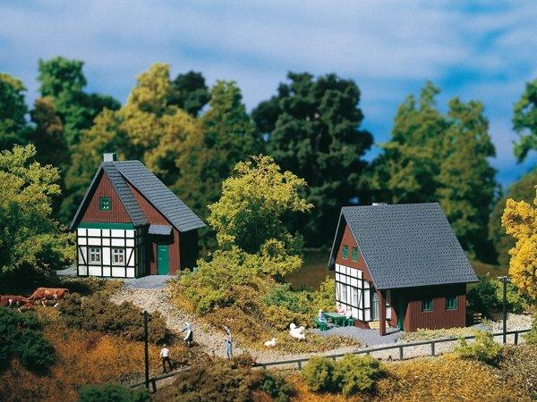 Auhagen 14452 Zwei Fachwerkhäuser in N Bausatz