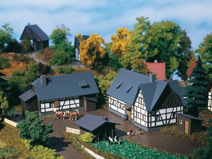 Auhagen 14465 Gehöft in N Bausatz Fabrikneu