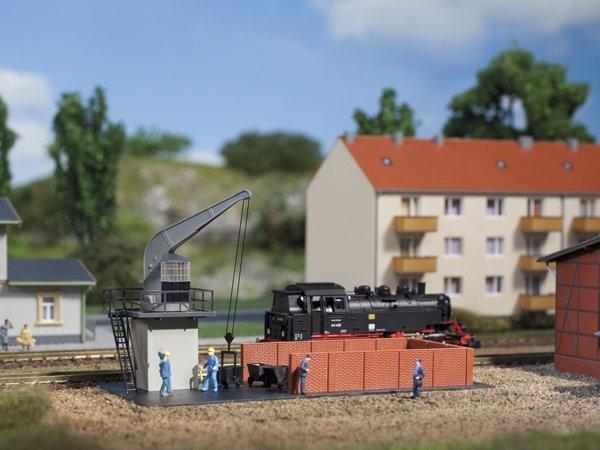 Auhagen 14473 Coal bunker N Kit   Miniatures Bauer