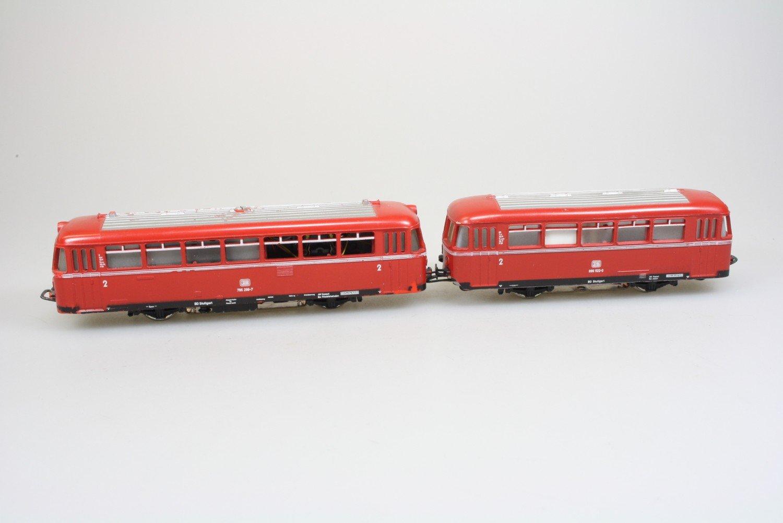Märklin 3016 Schienenbus Br. 795 mit Beiwagen der DB digital ESU Decoder