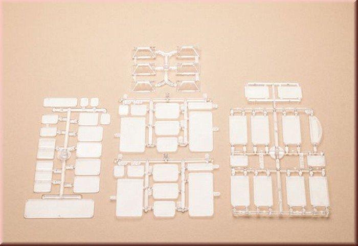 Auhagen 48251 Fensterscheiben, Oberlichte in H0/TT Bausatz