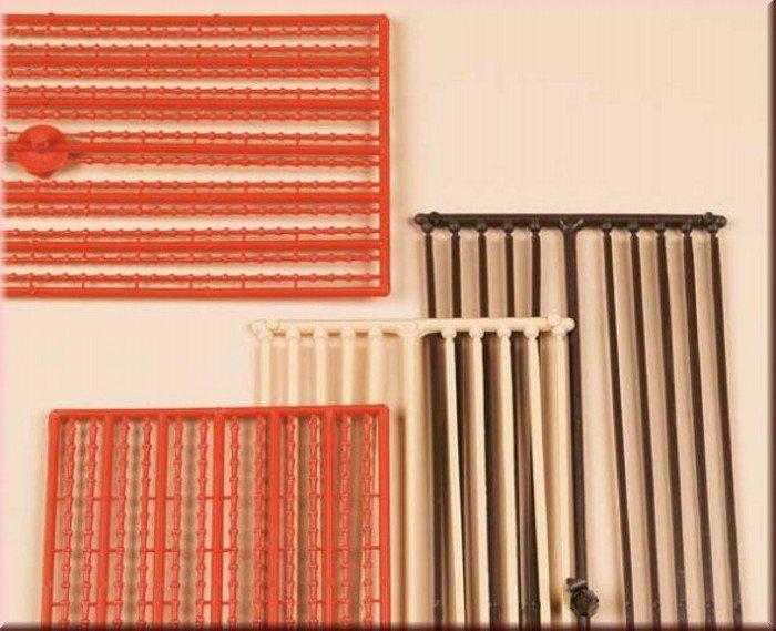 Auhagen 48649 Firstleisten, Abschlussleisten in H0/TT Bausatz