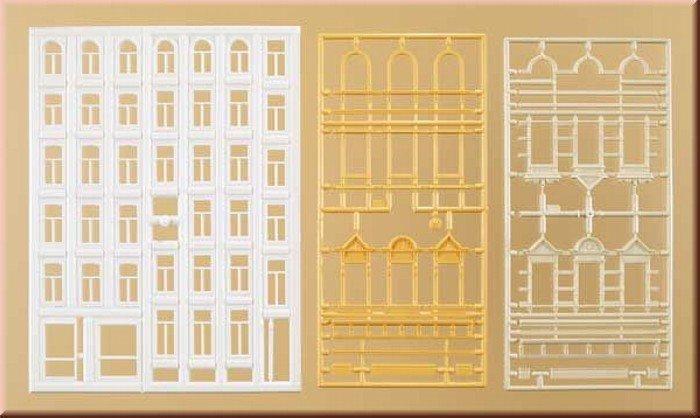 Auhagen 48651 Fenster und Gewände für Wohngebäude in H0 Bausatz Fabrikneu