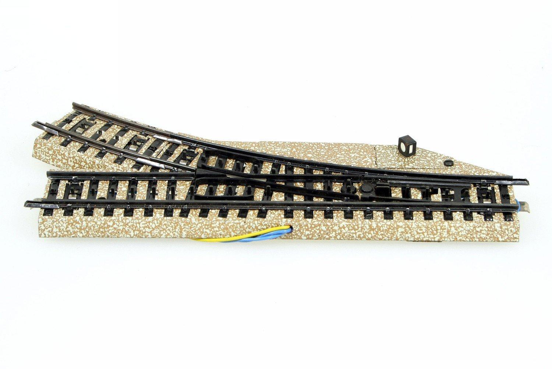 Märklin 5137 elektrische Weiche rechts M-Gleis 5139 unbespielt Funktion geprüft