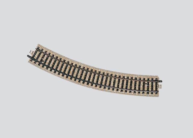 Märklin 5200 10x gebogenes M-Gleis 30° 437,4 mm unbespielt in Originalverpackung
