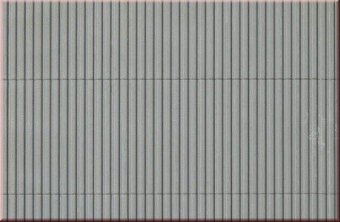 Auhagen 52233 2x Trapezblechplatten grau in H0/TT Fabrikneu