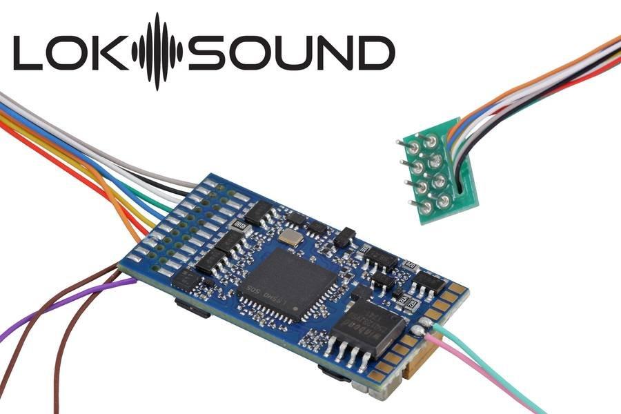 "ESU 58410 Loksound 5 DCC/MM/SX/M4 ""Leerdecoder"", 8-pin NEM652 Fabrikneu"