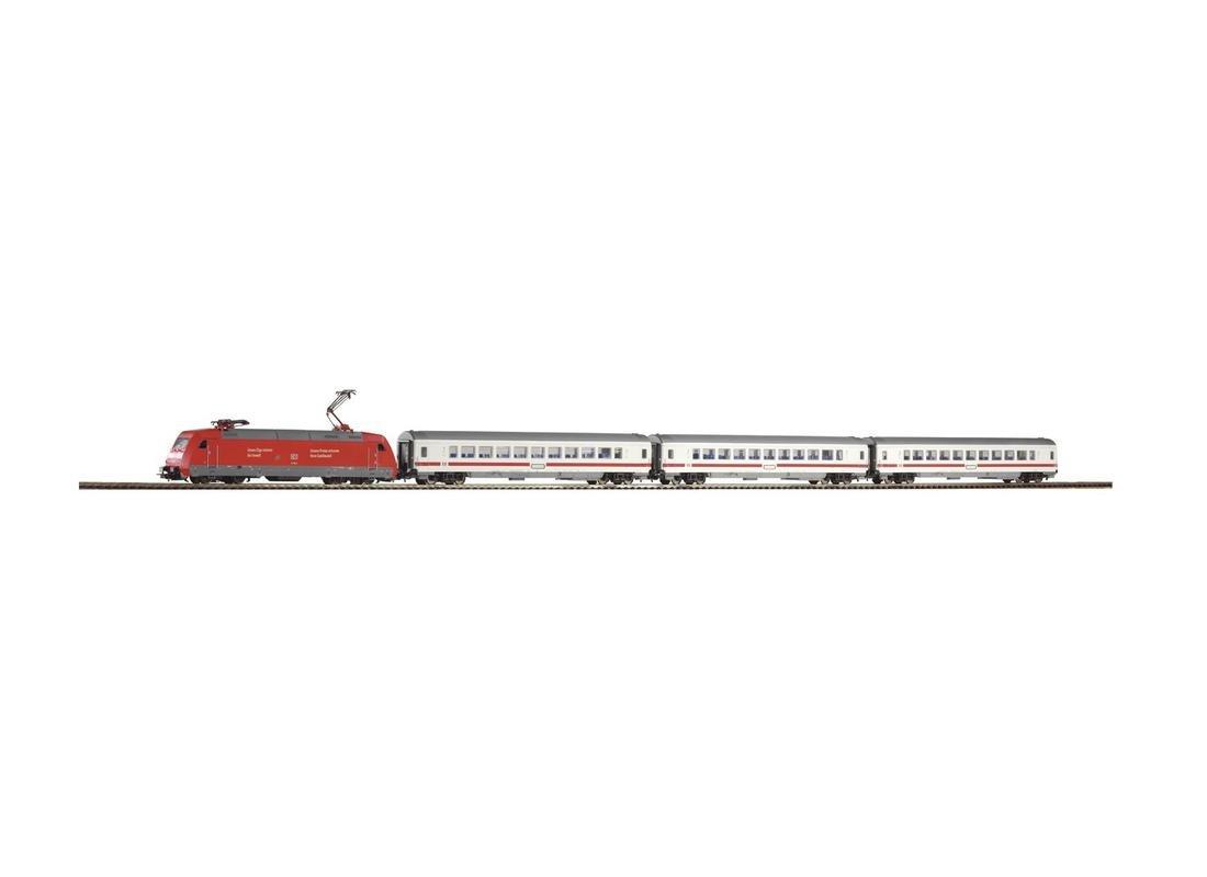 Piko 59100 Startset Personenzug E-Lok BR 101 mit 3 IC Personenwagen H0 Fabrikneu
