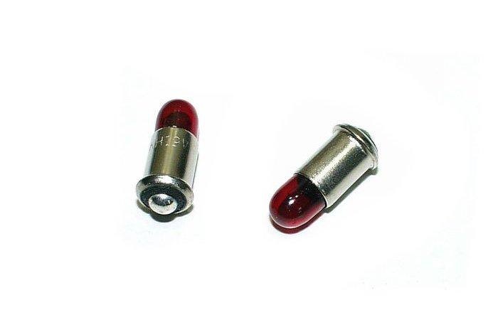 Märklin 600010 2x Glühlampe rot H0 Ersatzteil