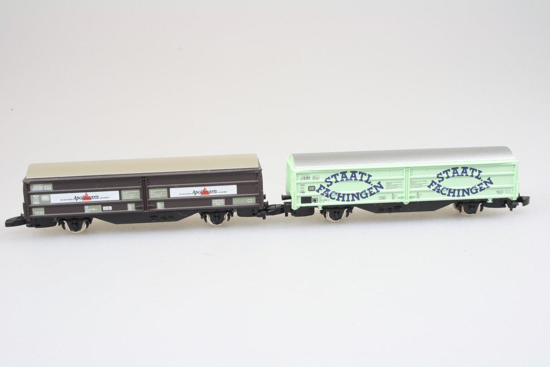 Märklin 82152 miniclub Wagenset Schiebewandwagen 2-teilig in Originalverpackung