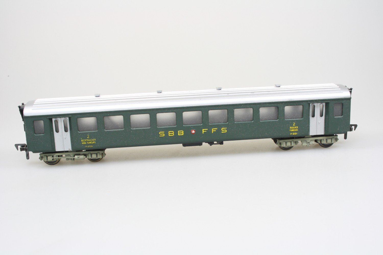 Fleischmann 1416 5132 Schnellzugwagen C4 8504 der SBB in H0