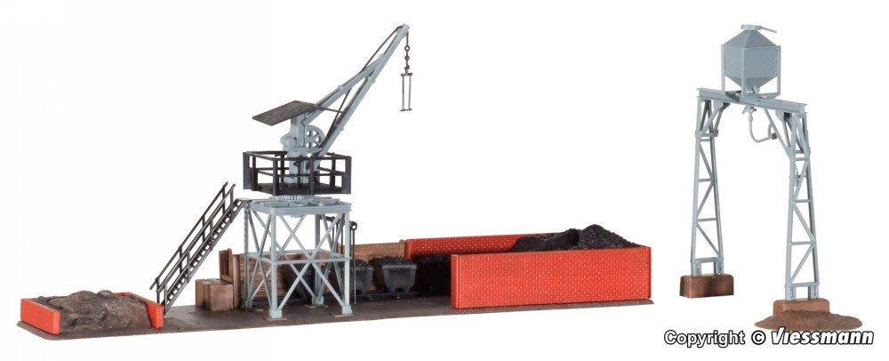 Kibri 39434 Großbekohlungs- und Besandungsanlage in H0 Bausatz