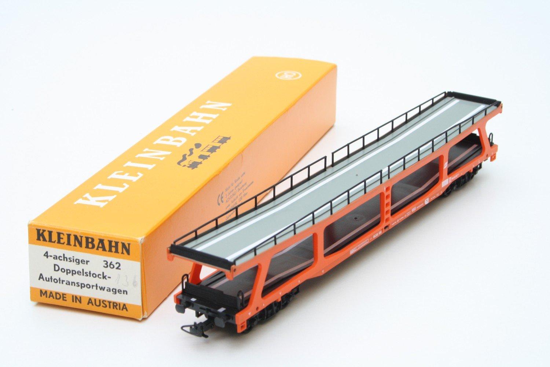 Klein Modellbahn 362 4-achsiger Doppelstock-Autotranspoprtwagen rot ÖBB Neuware