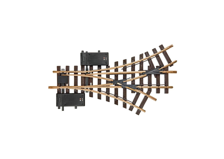 LGB 12360 elektrische Dreiwegweiche R1 30° Spur G Fabrikneu vom Fachhändler