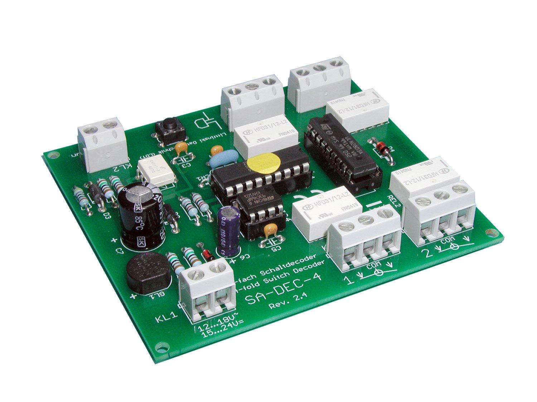 Littfinski 210211 SA-DEC-4-DC-B 4fach Schaltartikeldecoder DCC Bausatz Neuware