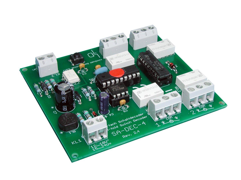 Littfinski 210312 SA-DEC-4-MM-F 4fach Schaltartikeldecoder Motorola Fabrikneu