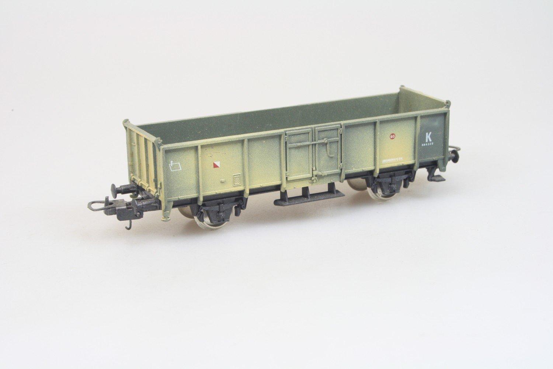 Lima 303504 offerner Güterwagen Militär in H0 Top Zustand