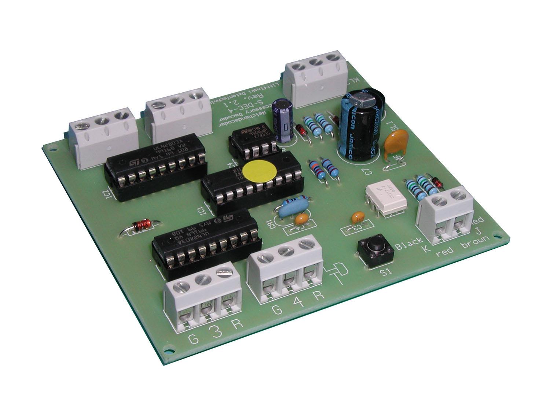 Littfinski 910212 S-DEC-4-DC-F Modul 4fach Magnetartikeldecoder DCC Fabrikneu