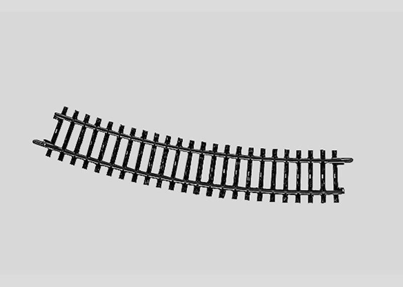 Märklin 2232 K-Gleis gebogen Länge 3/4 = 22° 30' H0 Fabrikneu