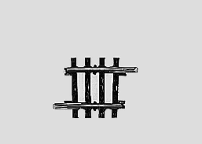 Märklin 2235 K-Gleis gebogen Länge 1/8 = 3° 45' H0 Fabrikneu