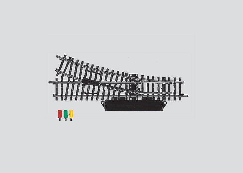 Märklin 2263 K-Gleis elektrische Weiche rechts H0 Fabrikneu