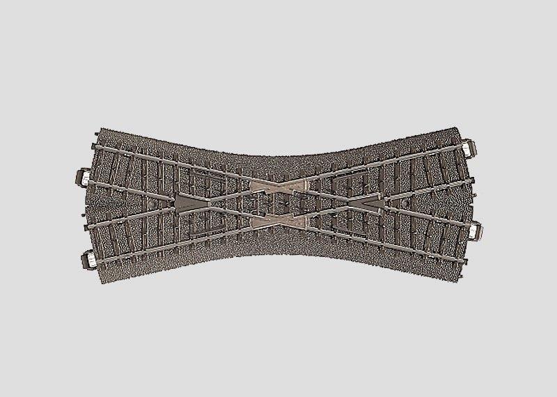 Märklin 24640 C-Gleis Kreuzung 188,3 mm / 24,3° H0 Fabrikneu