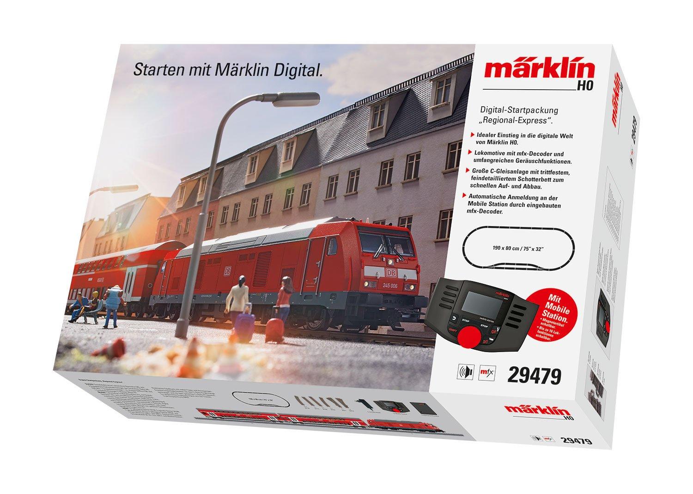 Märklin 29479 Startpackung Regional Express digital mit C-Gleis in H0 Fabrikneu