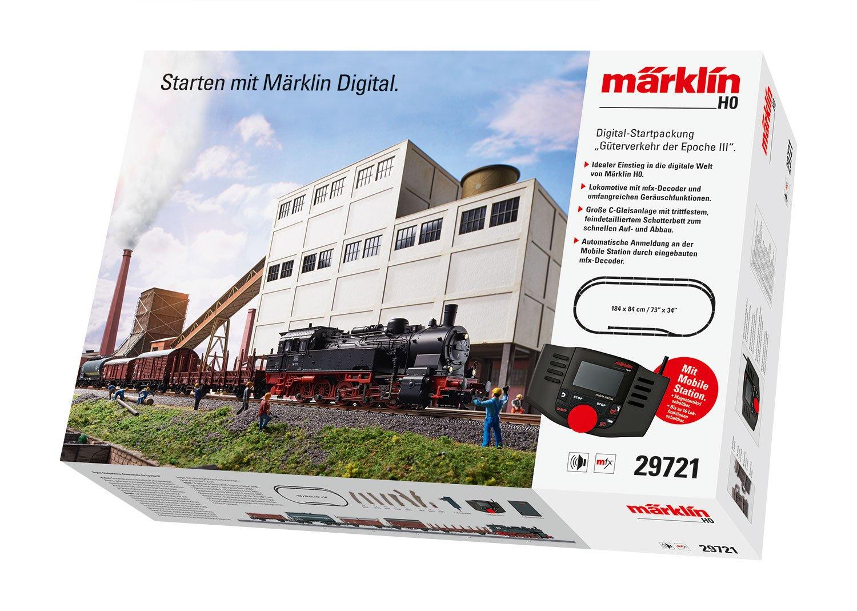 Märklin 29721 Digital-Startpackung Güterverkehr der Epoche III mfx H0 Fabrikneu