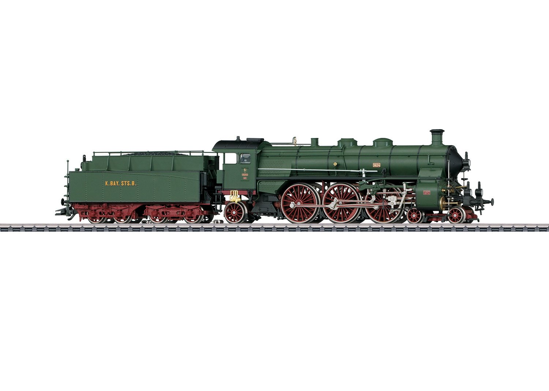 Märklin 39436 Dampflokomotive S 3/6 digital mfx+ Sound H0 Fabrikneu