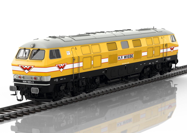 Märklin 55326 Diesellokomotive der WIEBE digital mfx Sound Spur 1 Fabrikneu