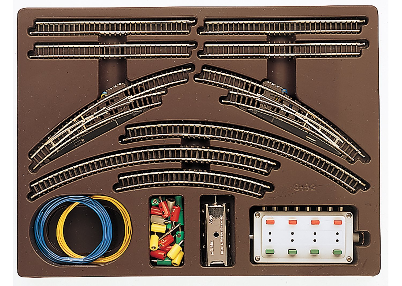 Märklin 8192 Doppelgleispackung T1 Z Fabrikneu