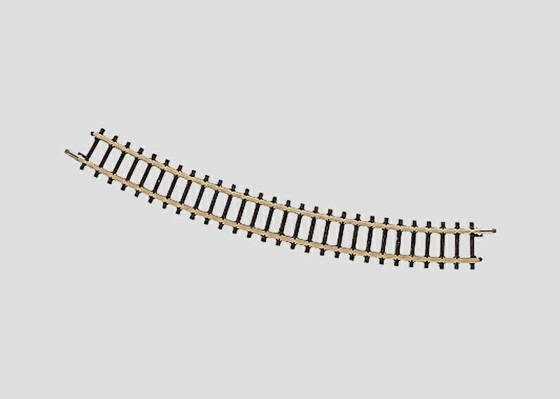 Märklin 8521 gebogenes Gleis Radius 195 mm in Z Fabrikneu vom Fachhändler