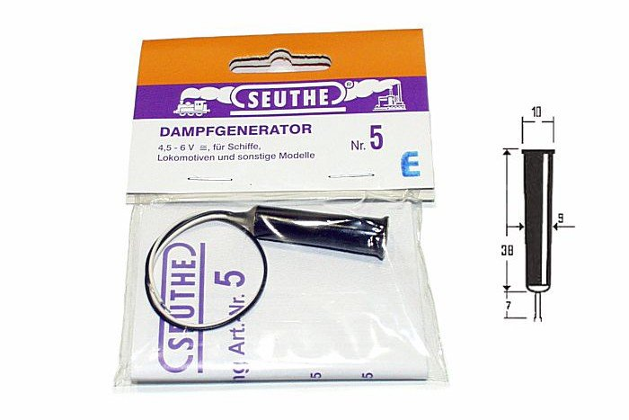 Seuthe Nr. 5E Dampfgenerator Spur 0 und 1 4,5-6V Fabrikneu