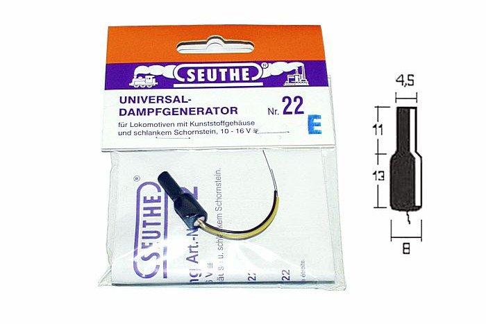 Seuthe Nr. 22E Dampfgenerator Spur H0 10-16V Fabrikneu