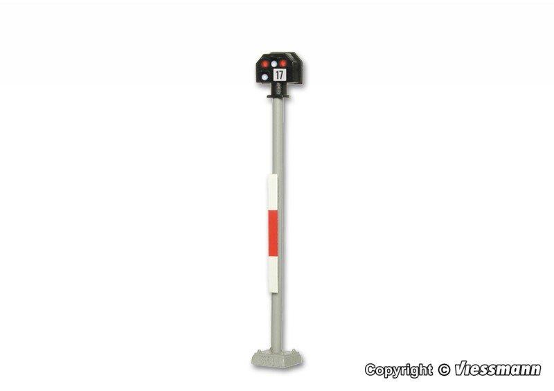Viessmann 4017 Licht-Sperrsignal hoch H0 Fabrikneu