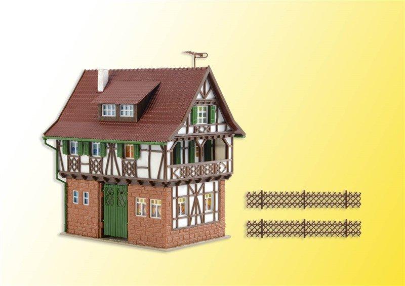Vollmer 43734 Gerberhaus in H0 Bausatz